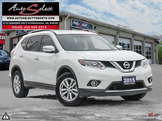 2015 NISSAN Rogue AWD ONLY 74K! **SV MODEL**PAN-SUNROOF**HEATED SEATS* in Scarborough, Ontario