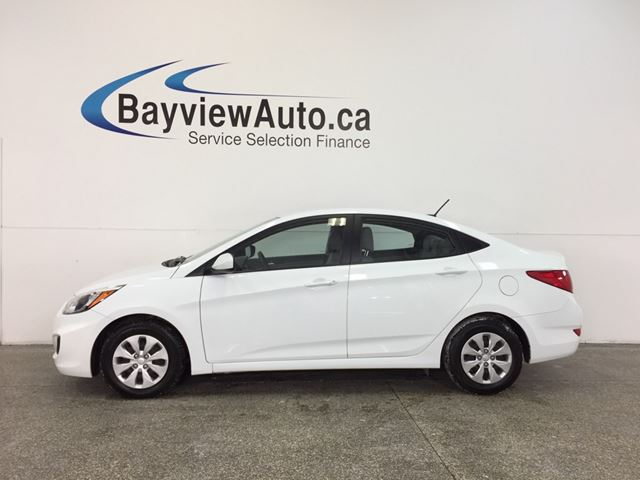 2016 HYUNDAI ACCENT - 1.6L AUTO HTD STS BLUETOOTH CRUISE ECO MODE! in Belleville, Ontario