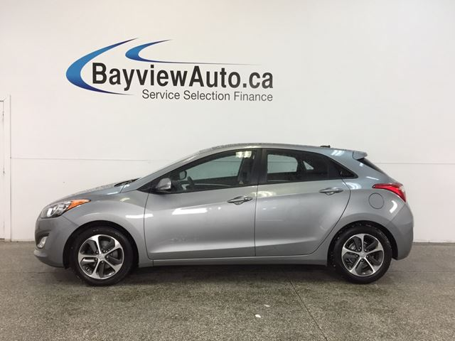 2016 HYUNDAI ELANTRA GT- 6 SPD PANOROOF HTD STS BLUETOOTH CRUISE! in Belleville, Ontario