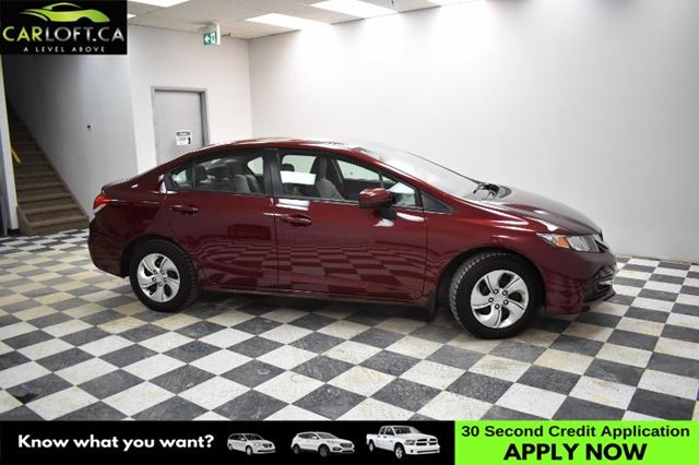 2014 HONDA CIVIC LX- HEATED SEATS * HANDSFREE DEVICE * LOW KM in Kingston, Ontario