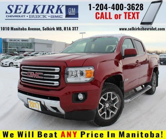 2017 GMC Canyon 4WD SLE in Selkirk, Manitoba