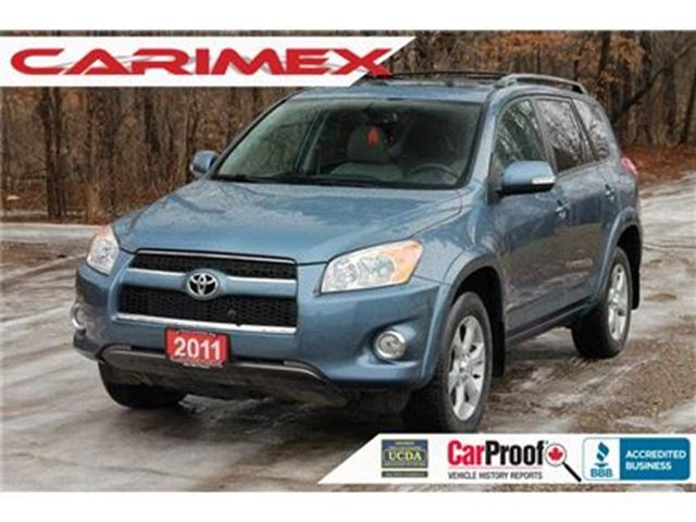 2011 TOYOTA RAV4 Limited 4x4   Leather   Sunroof   CERTIFIED in Kitchener, Ontario