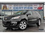 2017 Chevrolet Traverse 4X4+GROUPE REMORQUAGE+7 PLACES in Montreal, Quebec
