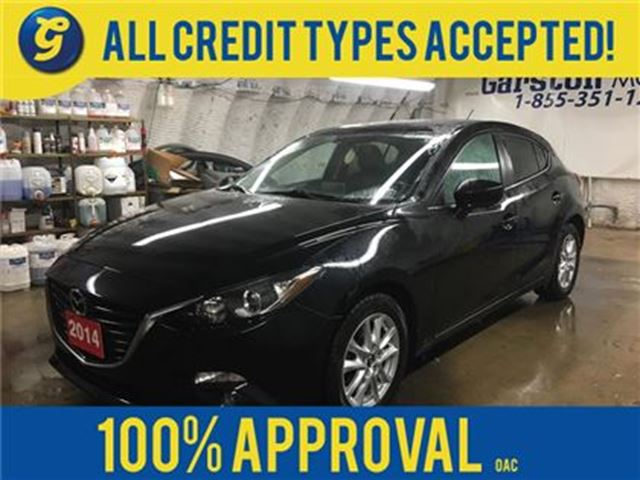 2014 MAZDA MAZDA3 GS-SKY*POWER SUNROOF*PHONE CONNECT*HEATED FRONT SE in Cambridge, Ontario