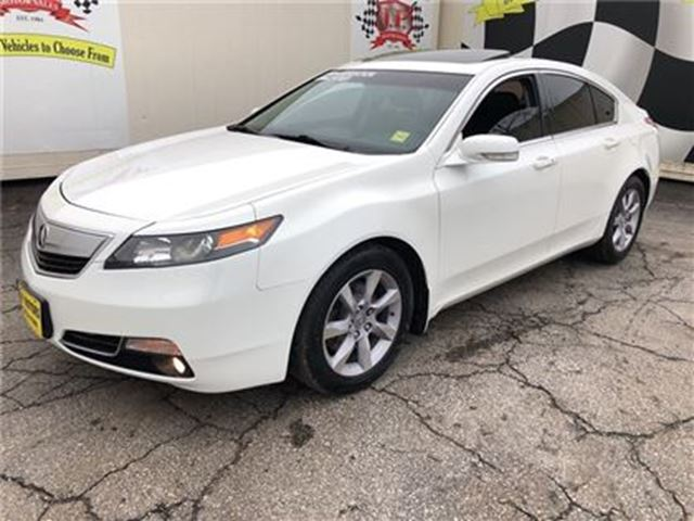 2014 ACURA TL Tech Package, Navigation, Leather, Sunroof, in Burlington, Ontario