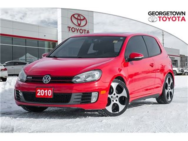 2010 VOLKSWAGEN GOLF GTI AIR CONDITIONING,HEATED SEATS,POWER SUNROOF in Georgetown, Ontario
