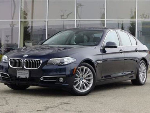 2014 BMW 5 SERIES Modern Line in North Vancouver, British Columbia