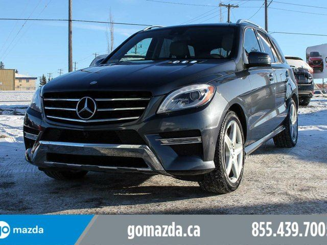 2015 MERCEDES-BENZ M-CLASS 400 SPORT 1 OWNER ACCIDENT FREE LOCAL in Edmonton, Alberta