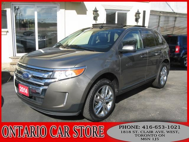 2014 FORD Edge SEL AWD NAVIGATION LEATHER SUNROOF in Toronto, Ontario