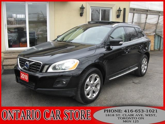 2010 VOLVO XC60 T6 AWD NAVIGATION BACK UP CAM in Toronto, Ontario