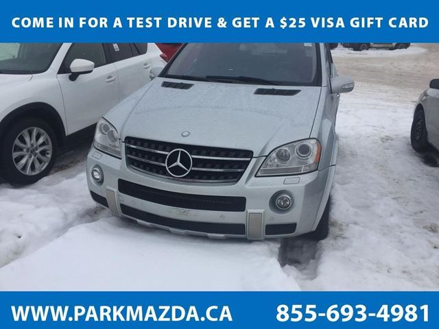 2008 MERCEDES-BENZ M-CLASS ML63 AMG in Sherwood Park, Alberta