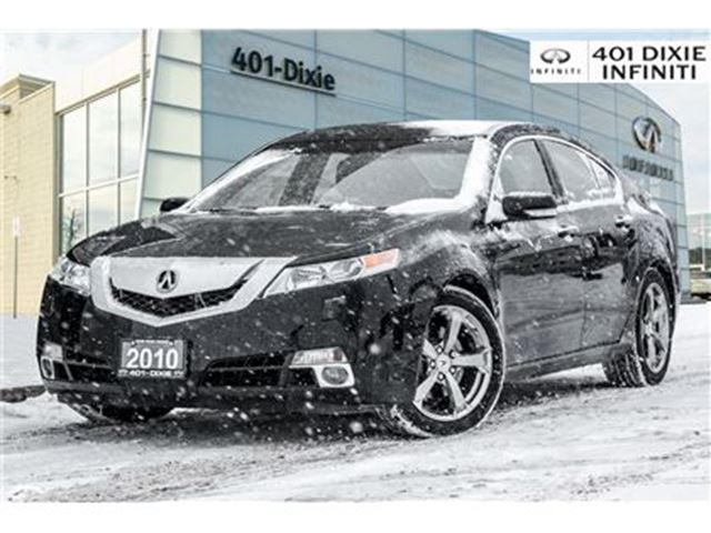 2010 ACURA TL SH-AWD! Leather, Navi, Rear Cam! in Mississauga, Ontario