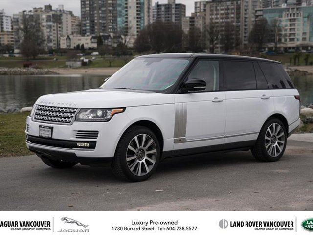 2015 LAND ROVER RANGE ROVER V8 Autobiography Supercharged LWB in Vancouver, British Columbia