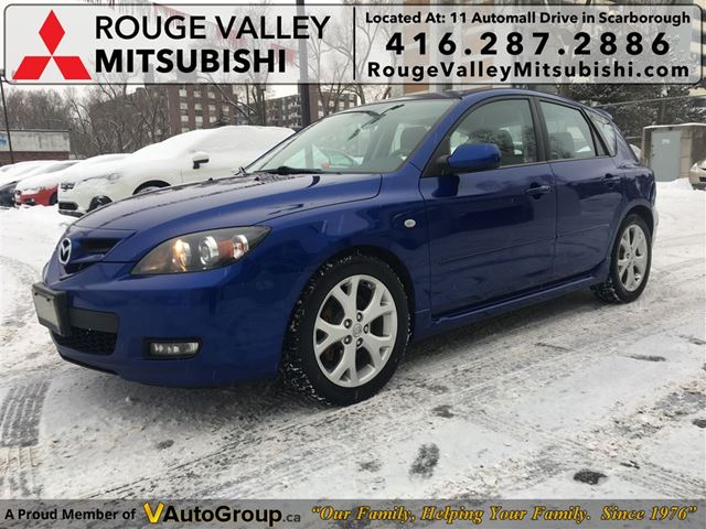 2008 MAZDA MAZDA3 GT, BODY IN GREAT SHAPE !!! in Scarborough, Ontario