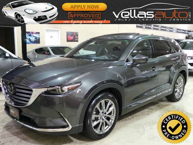 2018 MAZDA CX-9 SIGNATURE| AWD| 3,253KM in Vaughan, Ontario