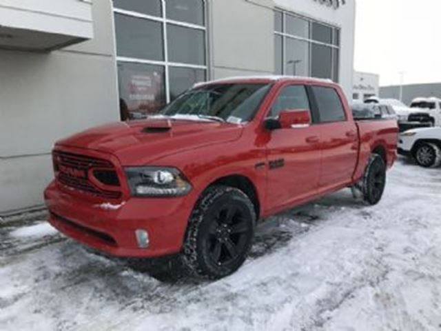2018 DODGE RAM 1500 Sport CrewCab 4x4 Excess Wear Protection in Mississauga, Ontario