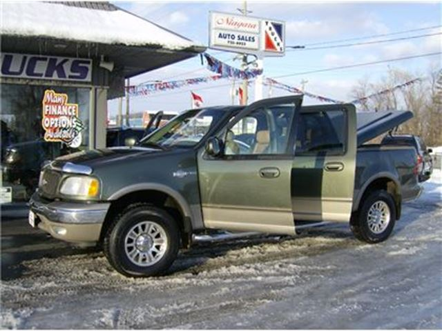 2003 FORD F-150 CLEAN KING RANCH PACKAGE 4X4 !! in Welland, Ontario