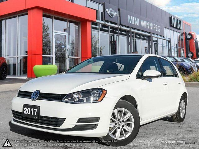 2017 VOLKSWAGEN GOLF Trendline Local Car! Clean Carproof! in Winnipeg, Manitoba