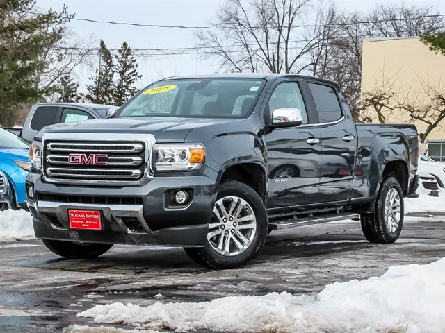 2015 GMC Canyon SLT Crew Cab 4WD, One Owner, Navigation, Driver in Virgil, Ontario