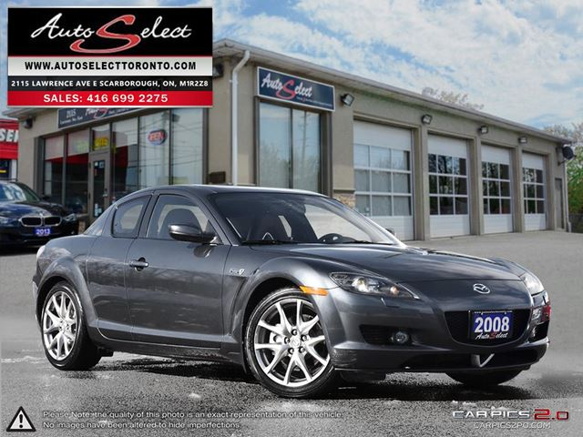 2008 MAZDA RX-8 ONLY 122K! **40TH ANNIVERSARY SPECIAL** **6 SPD** in Scarborough, Ontario