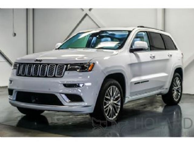 2018 JEEP Grand Cherokee SUMMIT FULLY LOADED AWD in Mississauga, Ontario