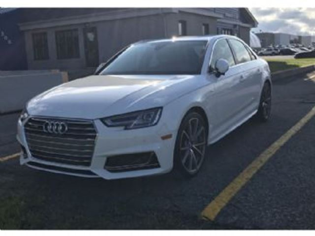 2017 AUDI A4 Technik -quattro-AWD Heads Up display in Mississauga, Ontario