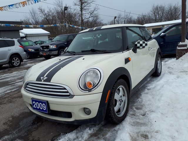 2009 MINI COOPER certified in Oshawa, Ontario