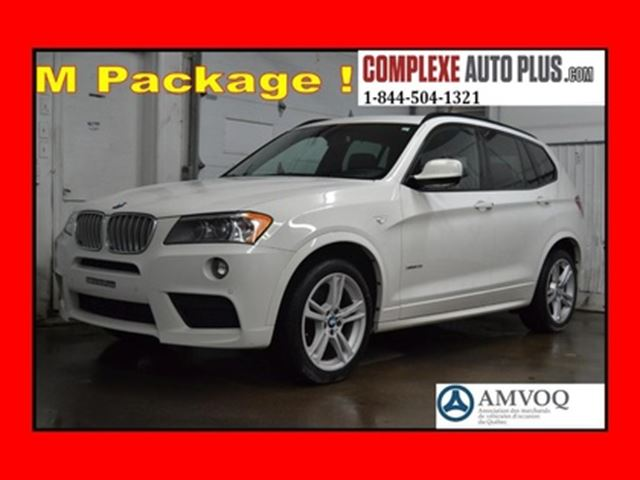 2014 BMW X3 M Sport Package! *Cuir brun,Toit pano. in Saint-Jerome, Quebec