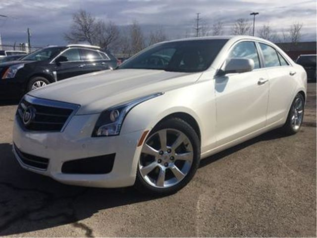 2014 CADILLAC ATS 2.0L Turbo Luxury LEATHER MOON ROOF in St Catharines, Ontario