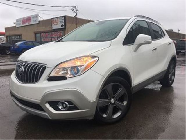 2014 BUICK ENCORE Leather LEATHER MOON ROOF BACK UP CAMERA in St Catharines, Ontario