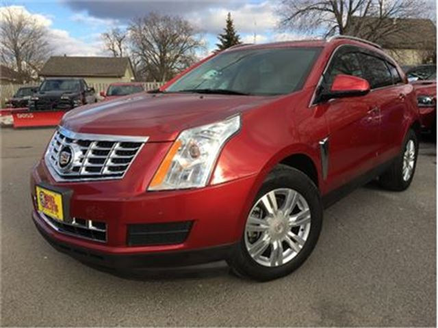 2014 CADILLAC SRX Luxury AWD LEATHER NAVIGATION SUN ROOF in St Catharines, Ontario