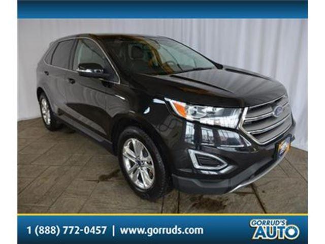 2015 FORD Edge SEL/HEATED LEATHER/NAV/PANO ROOF/CAMERA in Milton, Ontario