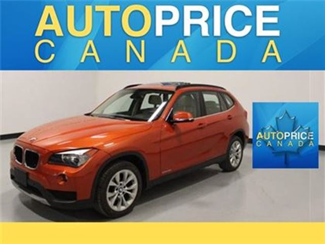 2014 BMW X1 NAVIGATION PANOROOF AND MORE in Mississauga, Ontario