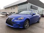 2015 Lexus IS 250 F SPORT   NAV   CLEAN CARPROOF   BSM in Brampton, Ontario