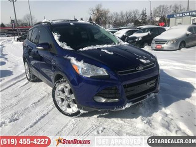 2013 FORD ESCAPE SEL   AWD   LEATHER   NAV   CAM in London, Ontario