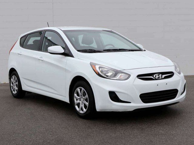 2014 HYUNDAI ACCENT L 4dr Hatchback in Penticton, British Columbia