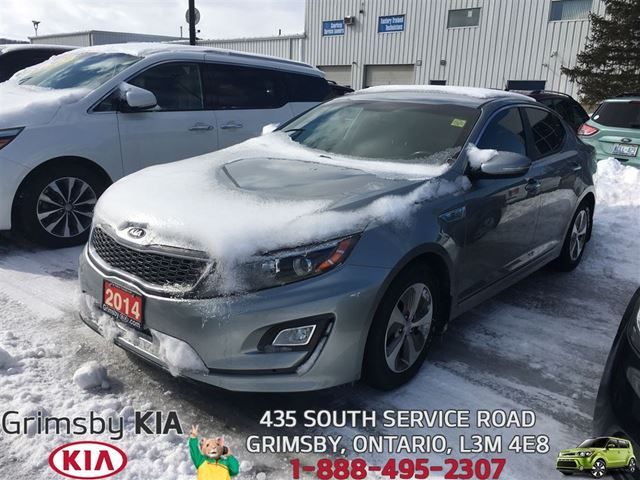 2014 KIA OPTIMA LX~BLUETOOTHHEAT SEATSB/U CAM in Grimsby, Ontario