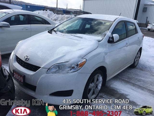 2009 TOYOTA MATRIX XR~CRUSE CONTKEYLESS ENTDUAL AIRBAG in Grimsby, Ontario