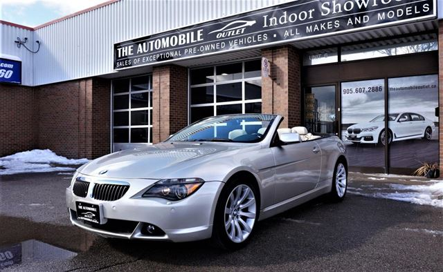 2006 BMW 6 SERIES 650Ci CONVERTIBLE NAVI NO ACCIDENT in Mississauga, Ontario