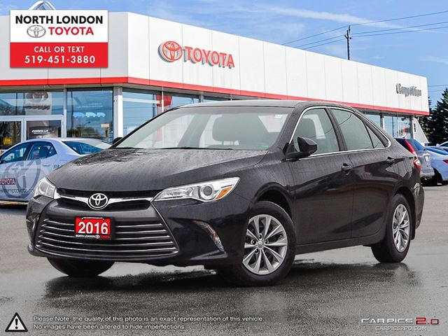2016 TOYOTA Camry LE Toyota Certified, One Owner, No Accidents in London, Ontario