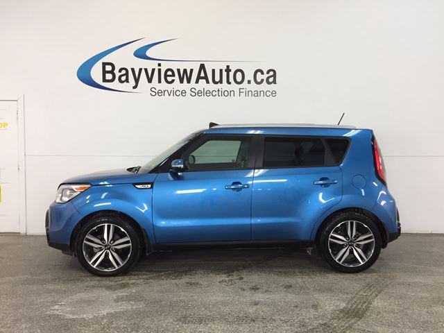 2016 KIA SOUL SX- ALLOYS|HTD/AC LTHR|INFINITY|BLUETOOTH|LDW! in Belleville, Ontario