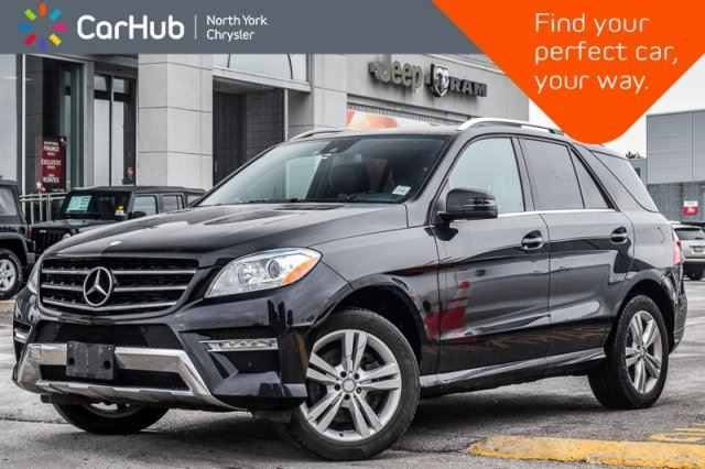 2015 MERCEDES-BENZ M-Class ML 350 BlueTEC 4Matic Sunroof Leather TowHitch 19Alloys  in Thornhill, Ontario
