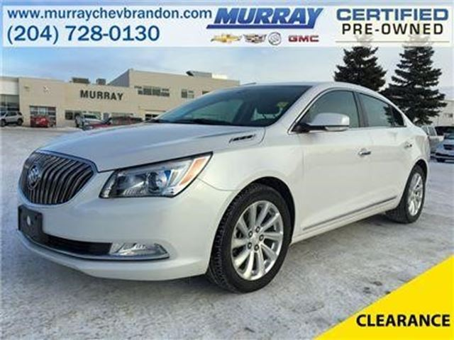 2015 Buick LaCrosse Leather in Brandon, Manitoba