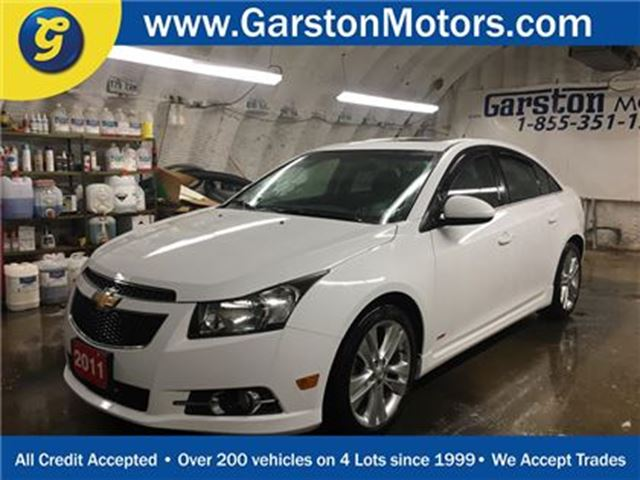 2011 CHEVROLET CRUZE LT Turbo+*POWER SUNROOF*PHONE CONNECT*KEYLESS ENTR in Cambridge, Ontario