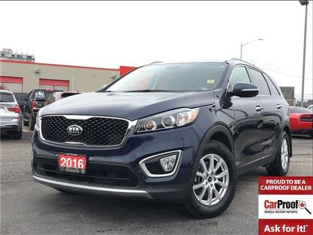 2016 KIA SORENTO EX**AWD**LEATHER**BLUETOOTH**BACK UP CAMERA** in Mississauga, Ontario