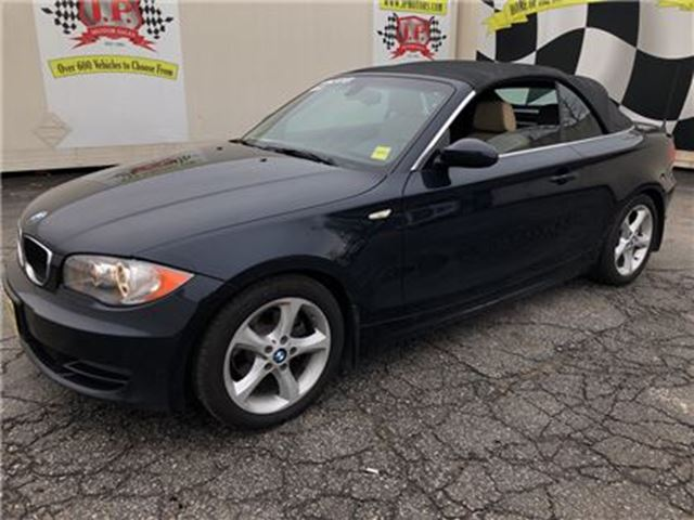 2008 BMW 1 SERIES 128i, Automatic, Leather, Convertible, in Burlington, Ontario