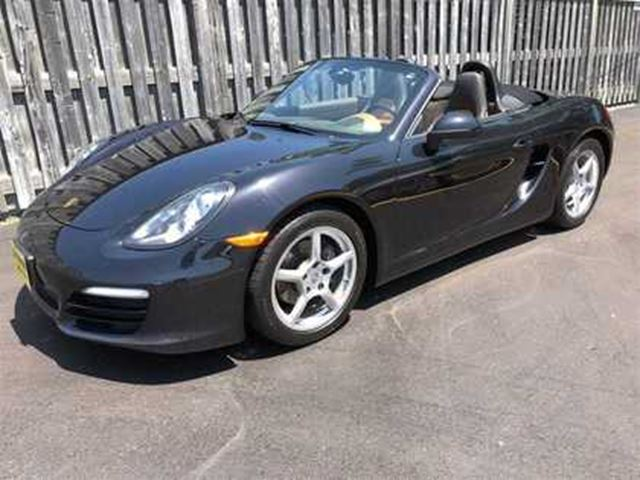 2013 PORSCHE BOXSTER Manual, Navigation, Leather, Convertible in Burlington, Ontario
