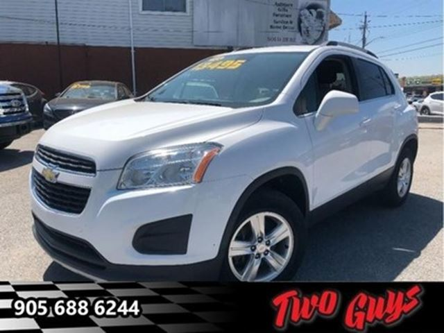 2013 CHEVROLET TRAX 1LT AWD BLUETOOTH MAG WHEELS in St Catharines, Ontario