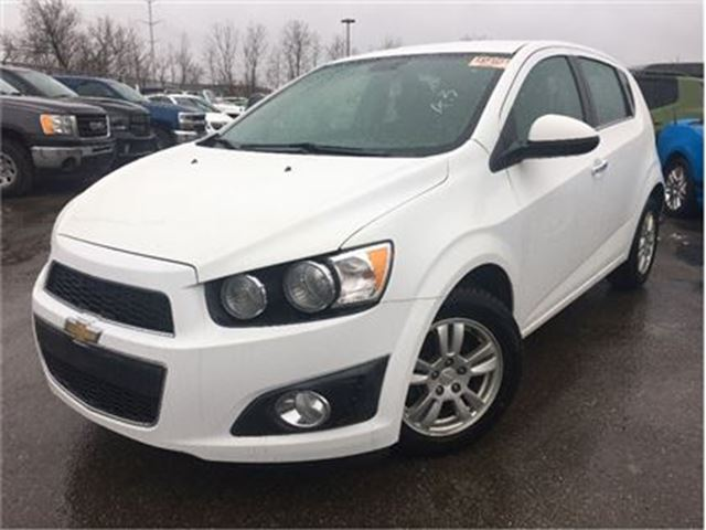 2013 CHEVROLET SONIC LT Auto REMOTE START HEATED FRONT SEATS in St Catharines, Ontario