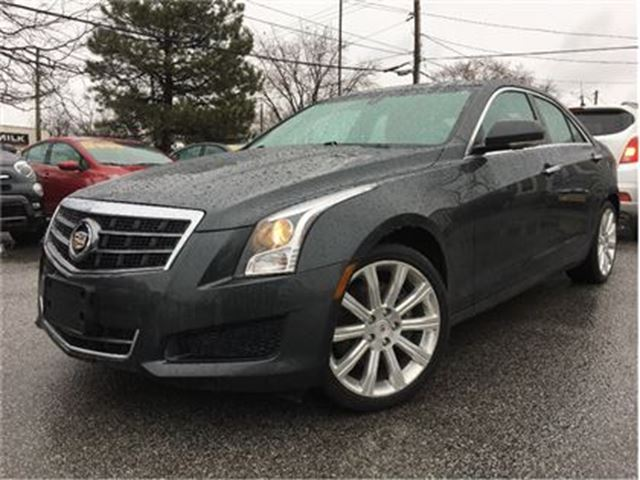 2014 CADILLAC ATS 2.0L Turbo Luxury AWD RED LEATHER MOONROOF in St Catharines, Ontario